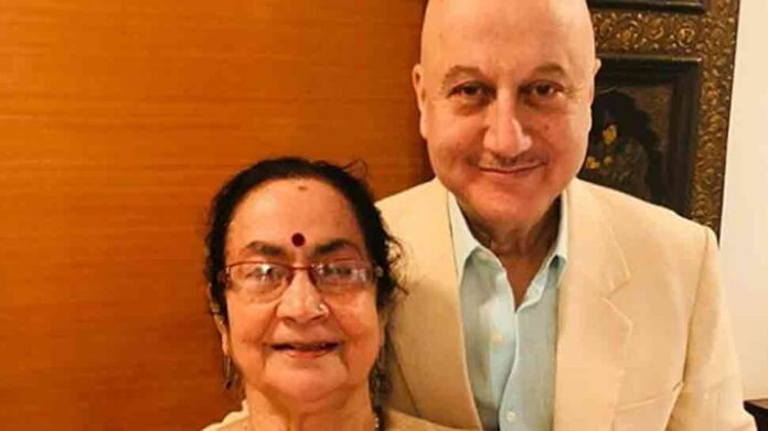 Anupam Kher's mother shifts to isolation ward, brother's family in home quarantine after coronavirus diagnosis